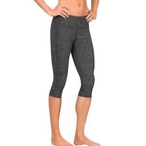 Athleta Grey Chaturanga Crop Legging Pants Capri